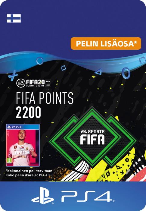 FIFA 20 Ultimate Team™ - 2200 FUT -Pistettä PS4:lle [DIGITAALINEN]