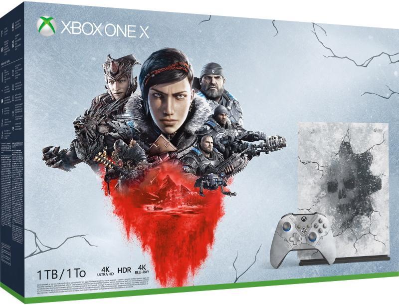 Xbox One X 1TB Gears 5 Limited Edition Konsoli