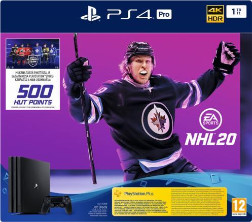 PlayStation®4 Pro 1TB Konsoli ja NHL® 20