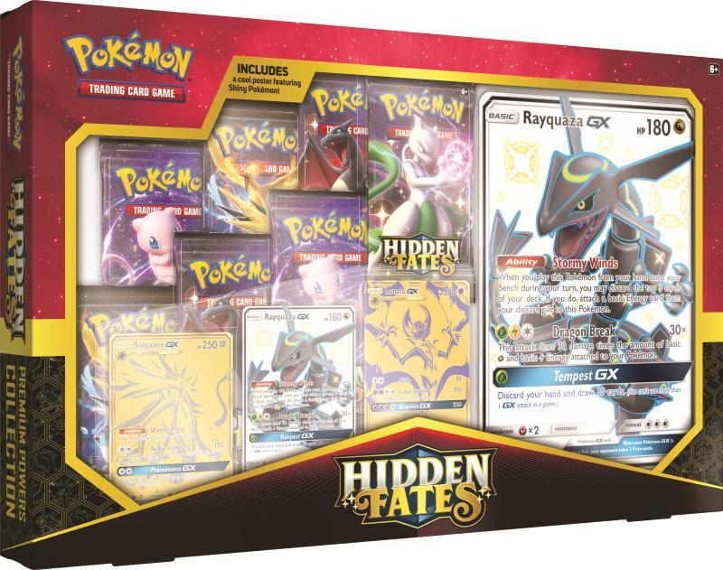 Pokémon TCG: Hidden Fates Premium Powers Box