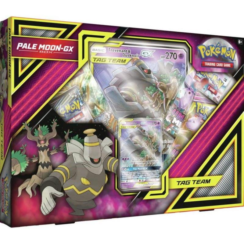 Pokémon TCG: Pale Moon GX-Box