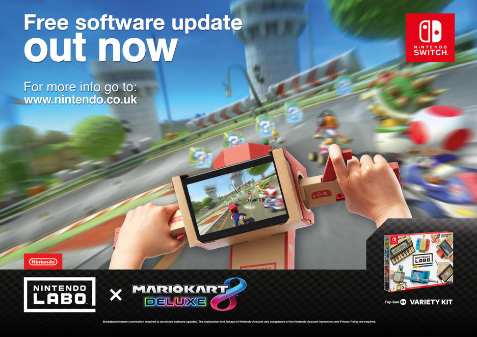 Nintendo Switch™ Mario Kart 8 Deluxe Konsolipaketit